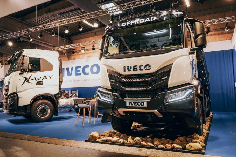 Danmarkspremiere på flere biler hos IVECO på Transport 2021